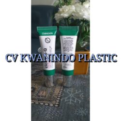 SOFT TUBE PLASTIK 15ML SERUM TUTUP CHROME