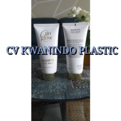 SOFT TUBE PLASTIK 100ML TUTUP CHROME